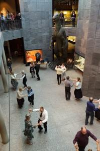 Die Round Dance Gruppe bei der Museumsnacht 2012