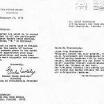 Grußbotschaft von US Präsident Jimmy Carter