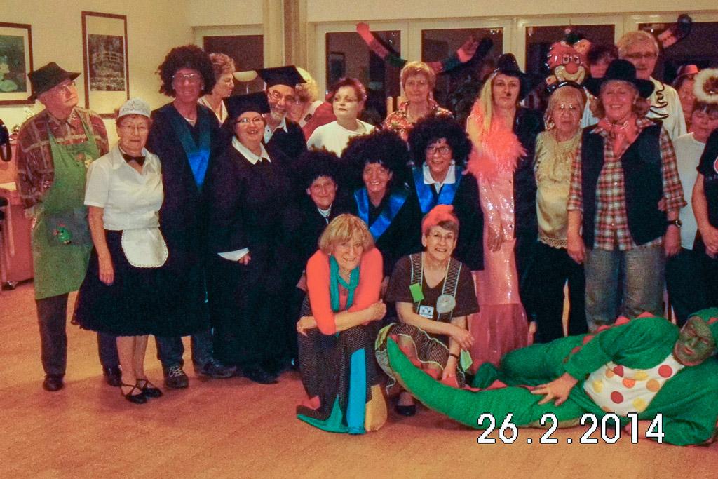 Gruppe Karneval 2014 3